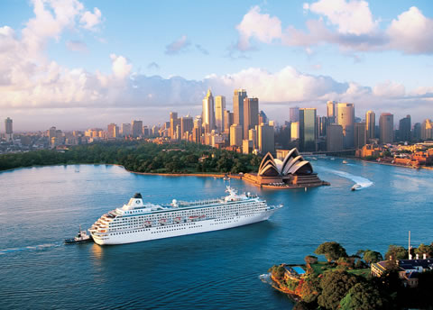 The Same Cruise Booked in Australia is 13% More Than Booked in the UK